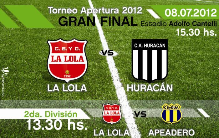 Este Domingo, en el estadio de Argentino, se juega el partido de ida por la final del fútbol local.