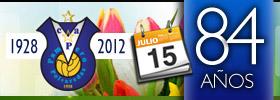 15 de Julio 2012 – 84º Aniversario